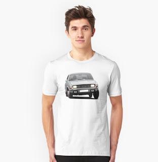Austin Allegro t-paita Redbubble