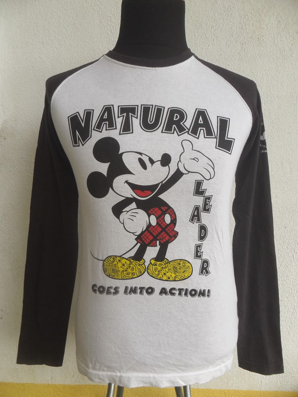 Podshop Mickey Mouse Disney Raglan Baseball Shirt