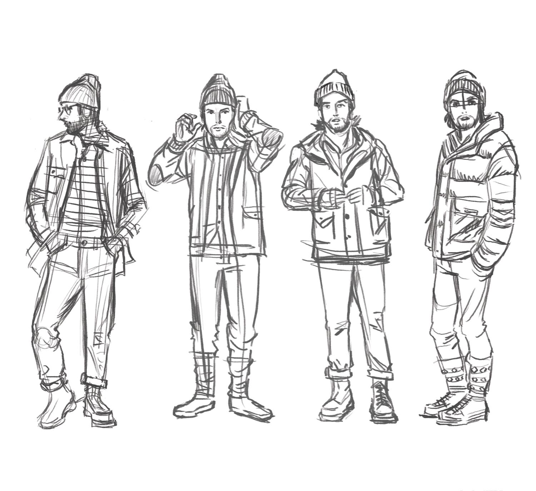 Dan S Sketches
