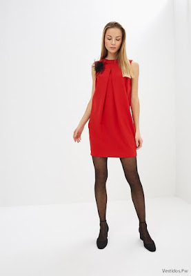 Vestidos de Noche Rojos Cortos