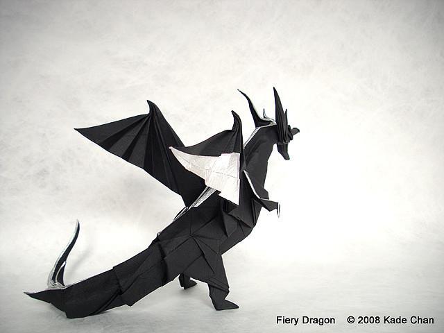 Incredible Kade Chan Origami Blog Fiery Dragon Wiring 101 Akebretraxxcnl