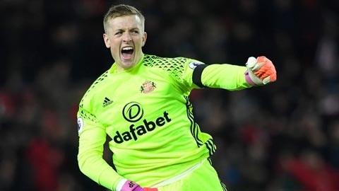 Everton đã chiêu mộ thành công Jordan Pickford với giá 30 triệu bảng