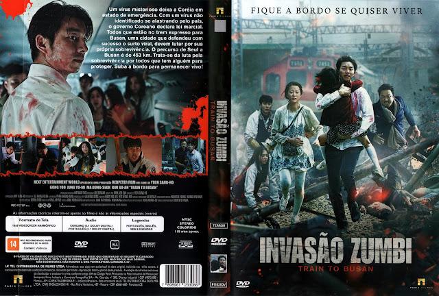 Capa DVD Invasão Zumbi