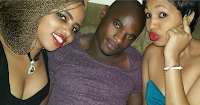 DENNIS OLIECH was at Kasarani to cheer Harambee   and he is totally wasted away, See how life changes(PHOTO)