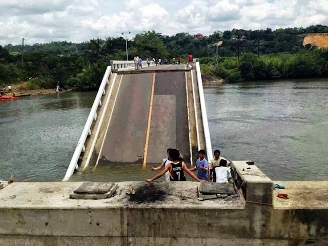 Abatan bridge, Bohol | Cebu Bohol Earthquake