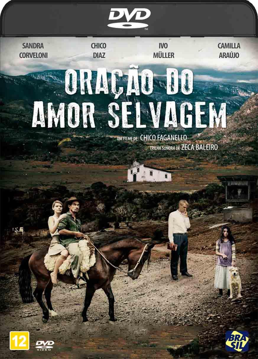 Oração do Amor Selvagem (2017) DVD-R Autorado Nacional