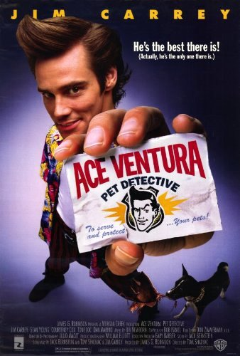 Poster Of Ace Ventura Pet Detective 1994 720p BluRay Full Movie Download