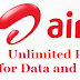 Airtel Unlimited Plans for 4g data,local and STD calls