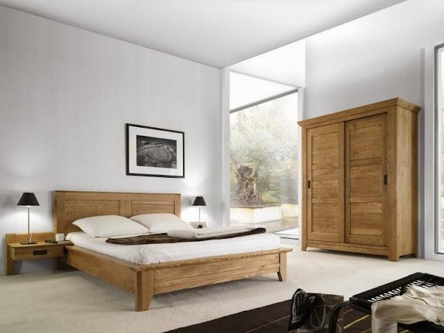 chambre rustique design. Black Bedroom Furniture Sets. Home Design Ideas