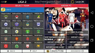 Download Garuda17: FTS mod FIFA17 by DrHa Apk + Data Android