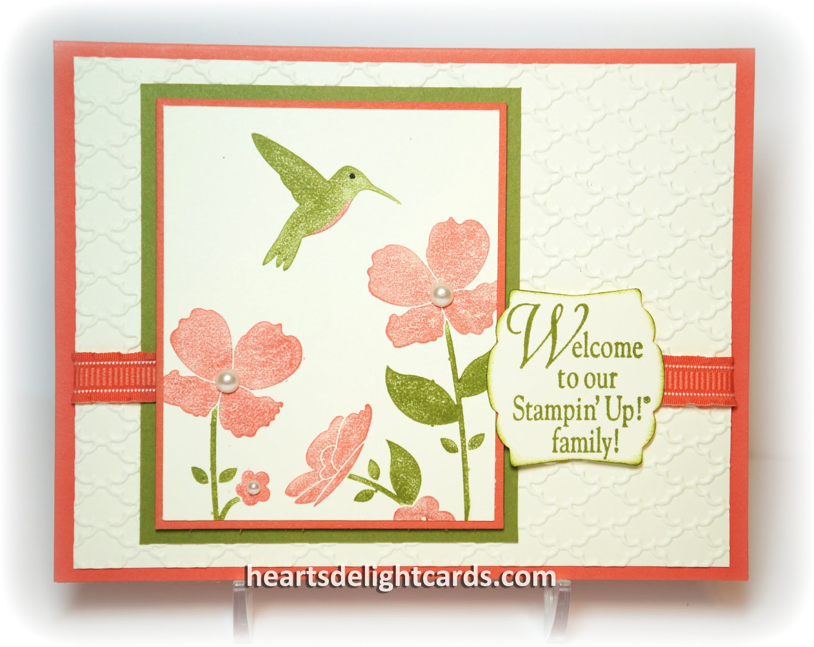 Hearts delight cards may 2013 if you join my stamping family ill send you a pretty welcome card too along with some other handy dandy stuff it doesnt matter where you are kristyandbryce Image collections