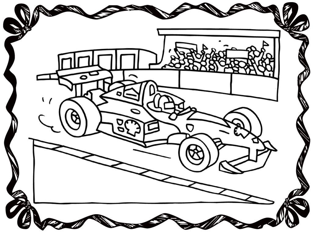 Printable Racing Flags Color