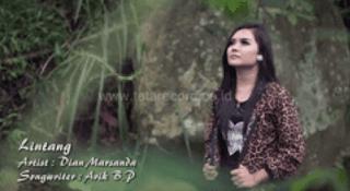 Lirik Lagu Lintang ( Sayang 5 ) - Dian Marsanda