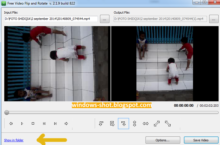 Cara Memperbaiki Video Miring
