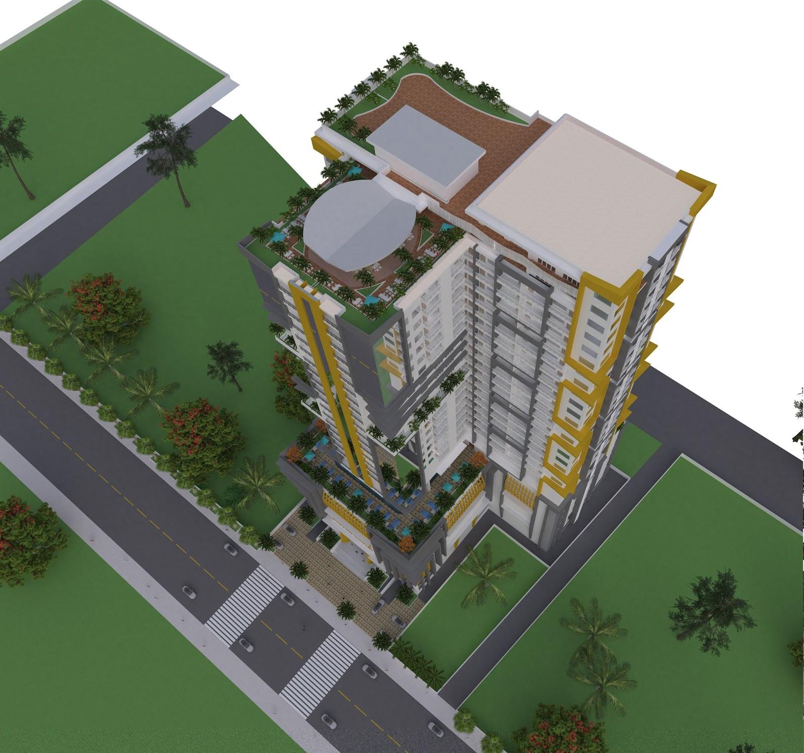 Sketchup Home Design: Sketchup Aparment Building
