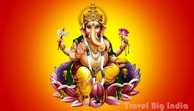 Lord Ganesha travel big india