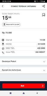 paket combo telkomsel 15 gb