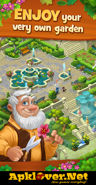 Gardenscapes MOD APK Unlimited Money
