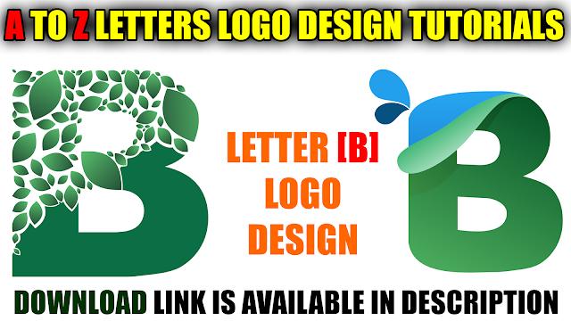 Mtc Tutorials Download Letter B Logo Design For Free Cdr