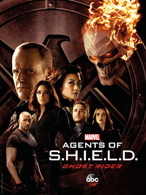 Marvel's Agents of Shield Season 4 Teaser Poster Featuring Ghost Rider!