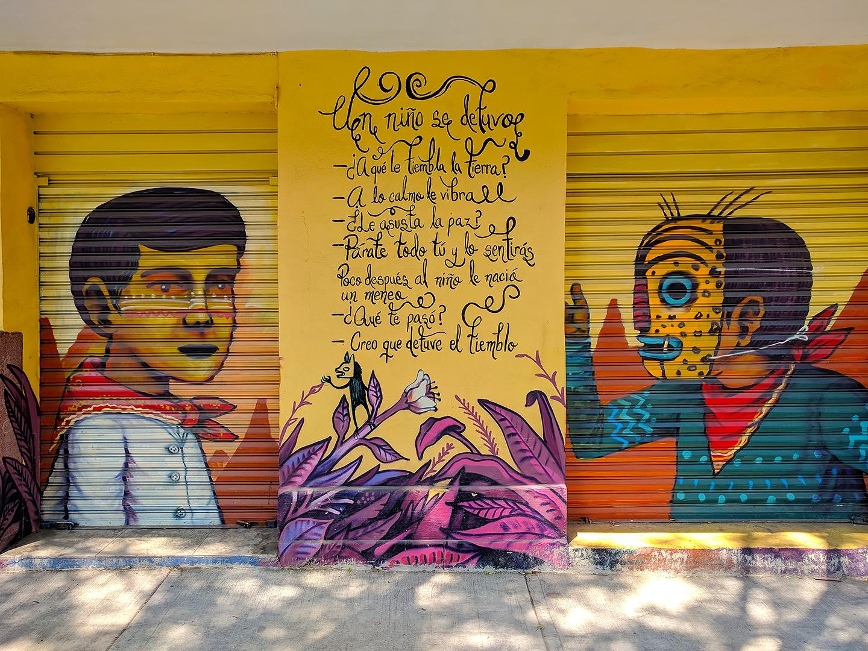 Woodland Shoppers Paradise: Mexico City Street Art (2018)