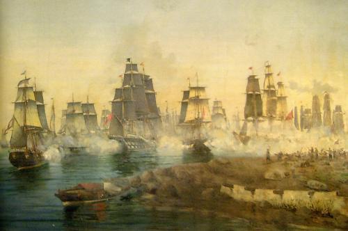 8 Σεπτεμβρίου 1822: Η ναυμαχία των Σπετσών - Ο Ανδρέας Μιαούλης πετυχαίνει σημαντική νίκη εναντίον του τουρκικού στόλου