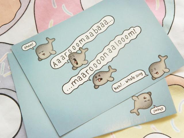 Genki Gear Postcards