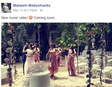 Actress Maheshi Madushanka fake wedding - Engagement