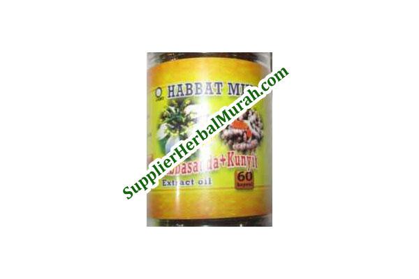Extract Oil Habbasauda + Kunyit
