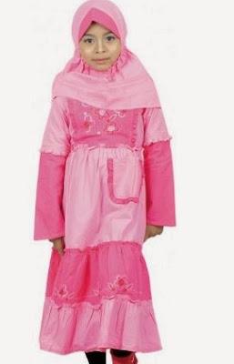 contoh baju terbaru untuk anak muslimah