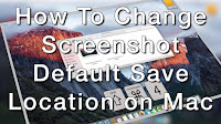 How To Change Screenshot Default Save Location