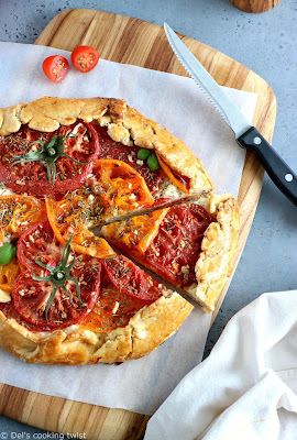HEIRLOOM TOMATO RICOTTA GALETTE