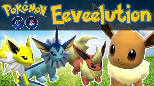 Cara Evolusi Pokemon Eevee Menjadi Vaporeon Flareon Jolteon, Perbedaan Evolusi Eevee, Cara Mendapatkan Vaporeon dengan Evolusi Eevee di Pokemon Go, Cara Mendapatkan Jolteon dengan Evolusi Eevee di Pokemon Go, Cara Mendapatkan Flareon dengan Evolusi Eevee di Pokemon Go, Cara Evolusi Untuk Mendapatkan Vaporeon Flareon Jolteon.