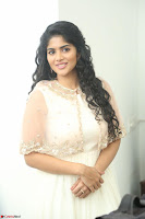 Megha Akash in beautiful Cream Transparent Anarkali Dress at Pre release function of Movie LIE ~ Celebrities Galleries 030.JPG