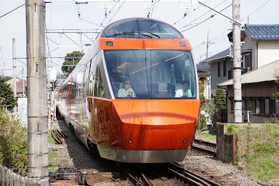 小田急ロマンスカー70000形GSE