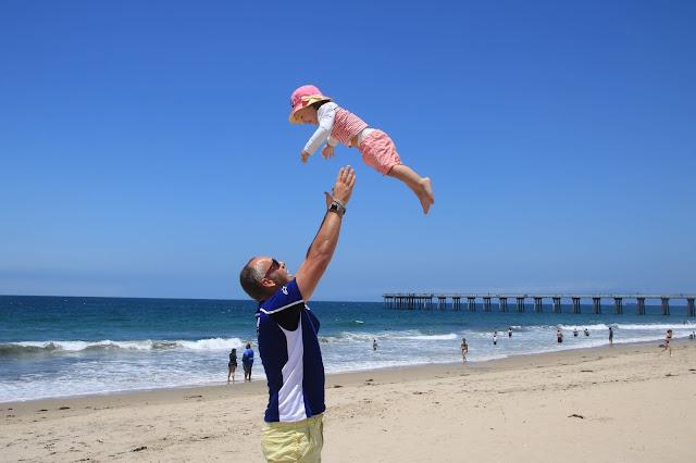 Polpetta volante ad Hermosa Beach Los Angeles USA