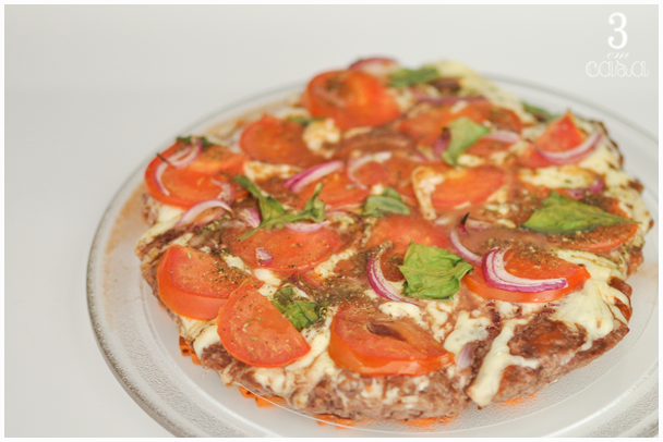 receita de pizza de carne moída
