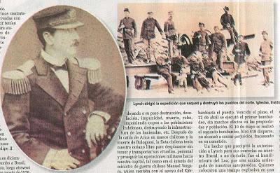La Expedición Lynch (Septiembre de 1880)