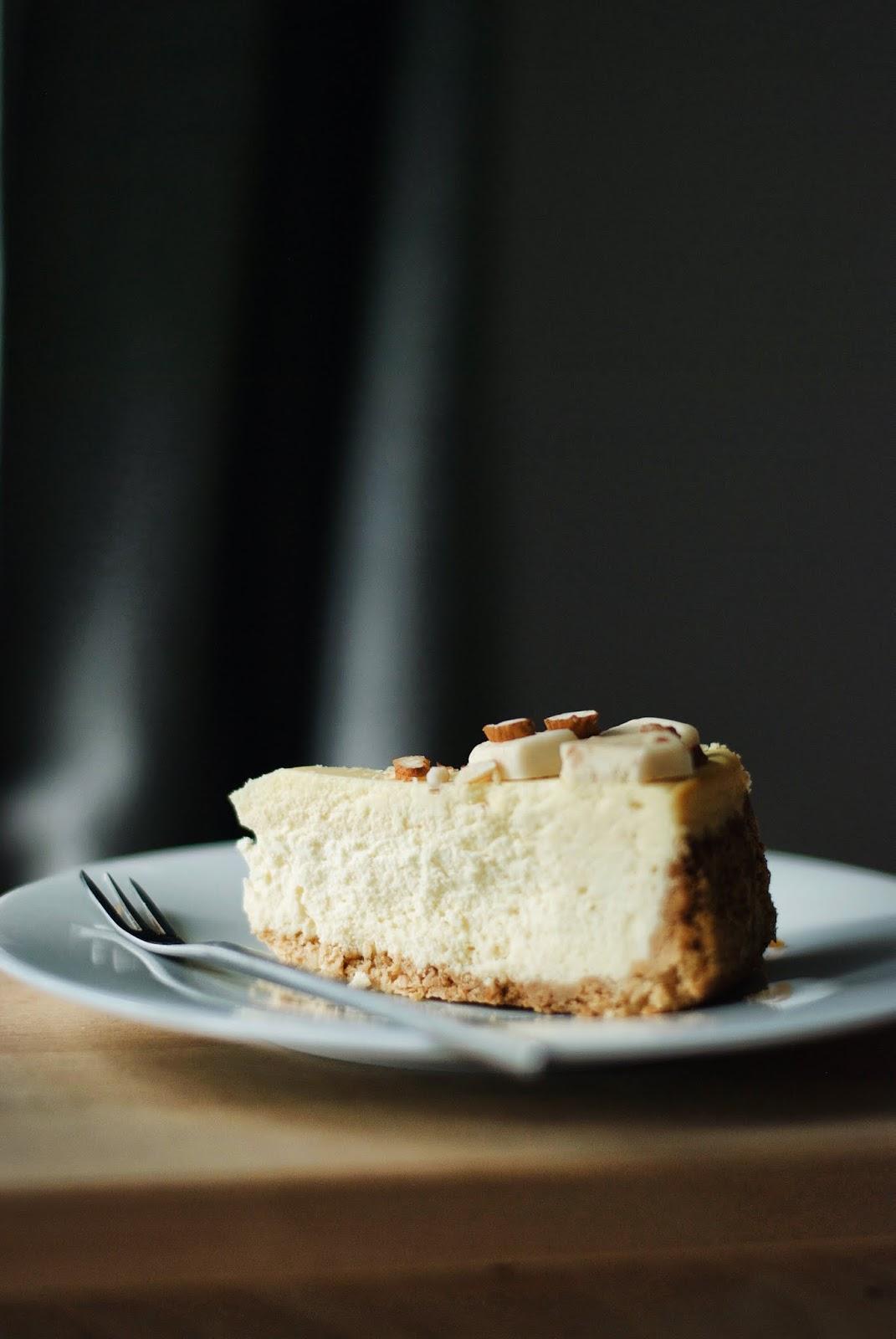 Sernik nowojorski z białą czekoladą