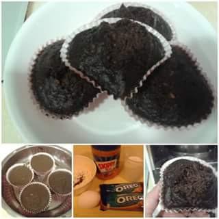 cara membuat muffin oreo dari oreo
