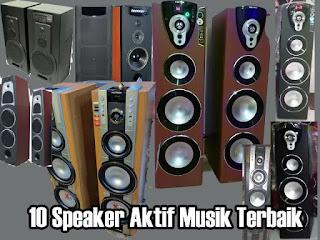 Speaker Aktif Terbaik Untuk Musik