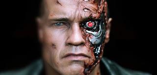 Robots with human flesh