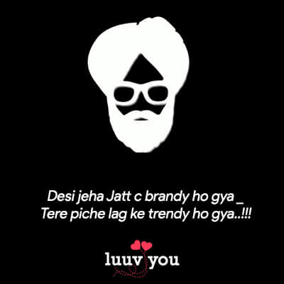 Boys Attitude Status in Punjabi
