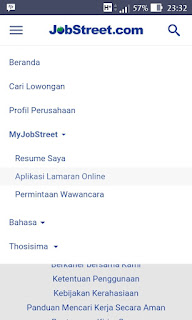 Cara mendaftar jobstreet.co.id fikriwildannugraha.blogspot.co.id mudah di terima kerja lulus ampuh cpns online internet langsung diterima tips nya bagaimana daftar UMR UMK terbaik perusahaan surat melamar online di smartphone