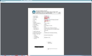 Cara Cetak Dokumen Form A1 dan Pakta Integritas PPG Dalam Jabatan Tahun 2019 Angkatan 4