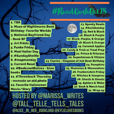 Read & Gush October Bookstagram Challenge
