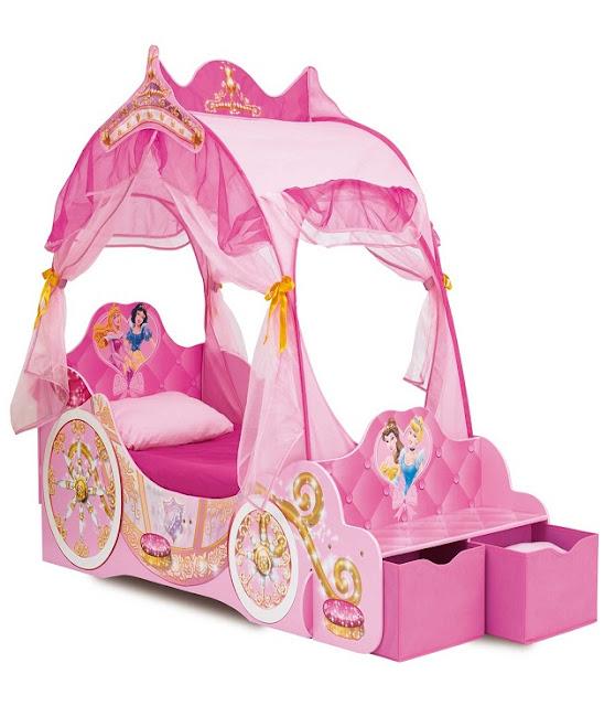 Chambres en rose princesse disney