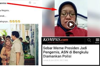 Lecehkan Neno Warisman dan Prabowo di Medsos, ASN Kemenkeu Akhirnya Minta Maaf