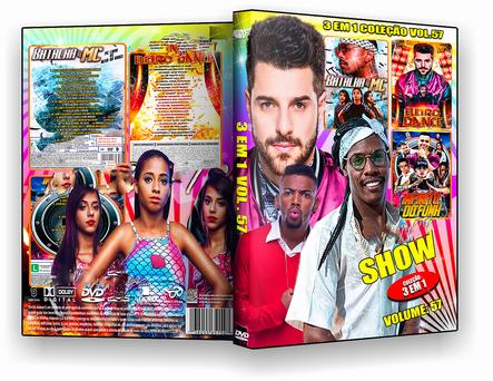 CAPA DVD – Shows 3 Em 1 Coleção Vol. 57 – ISO