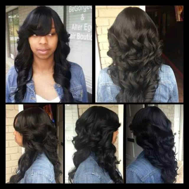 Women Quick Easy Hairstyle Complete Tutorials for Black Ladies 2016 9133a0f58f
